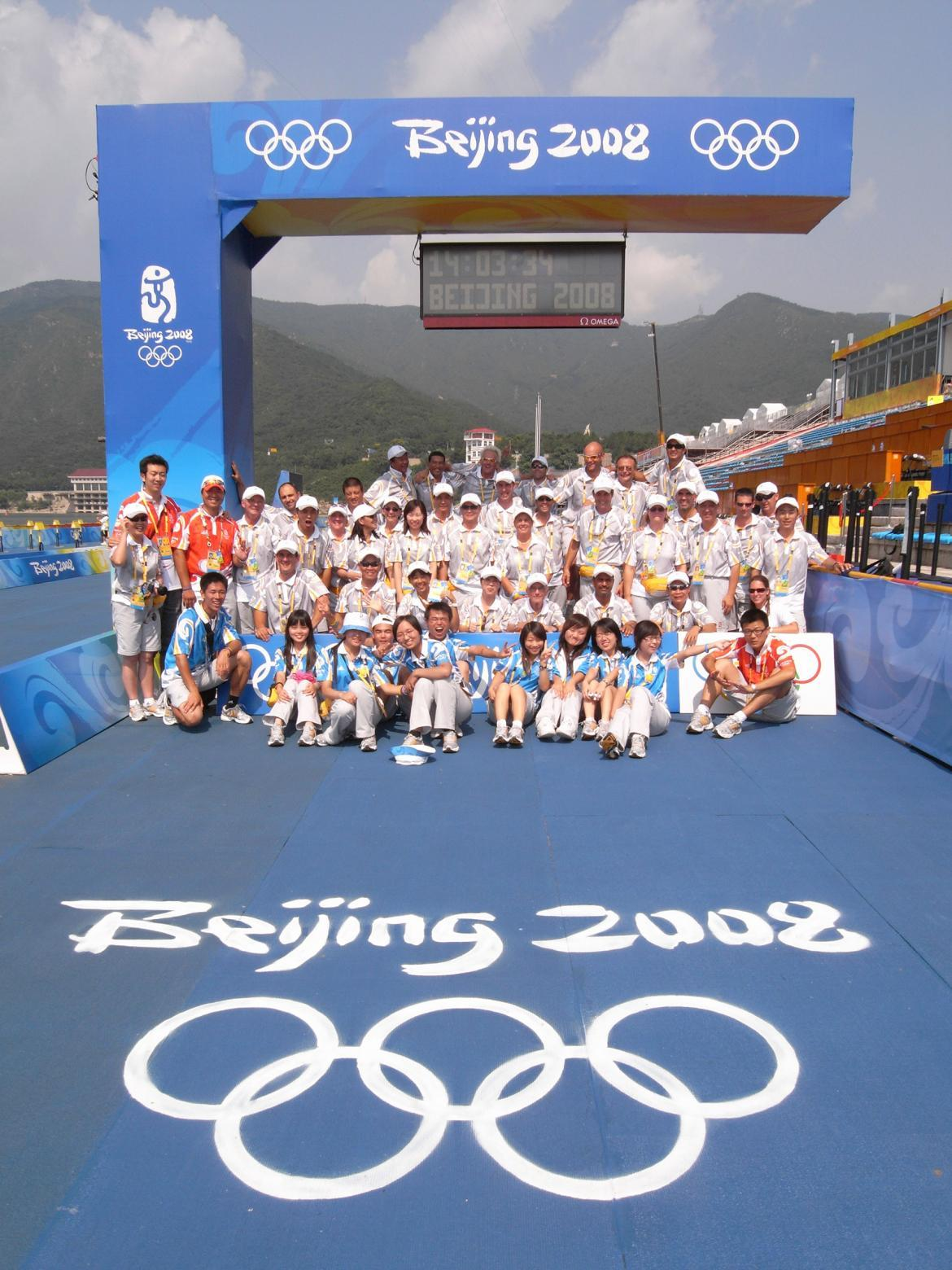 北京奥运十年首次整体回顾_十三陵水库殿堂赛场再迎铁三