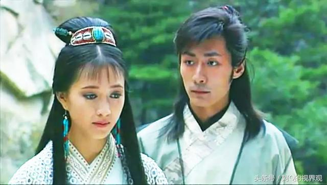 2000年张子健在电视剧《国学》中饰演英雄燕双鹰.关于主角电影剧本图片
