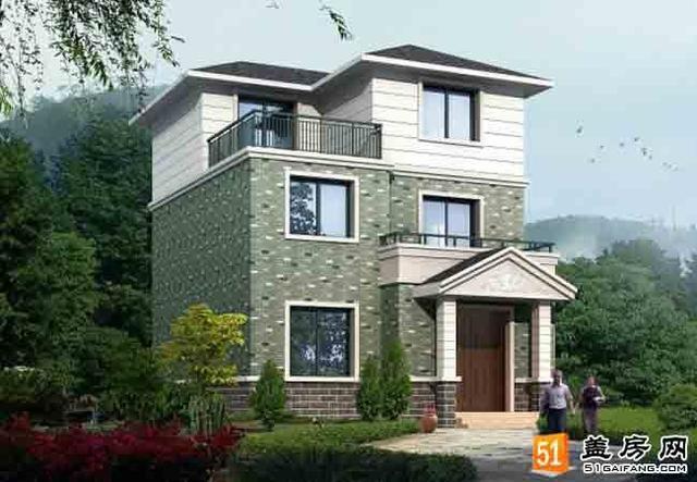 二层半农村房屋设计图,秀外慧中,典雅大气图片