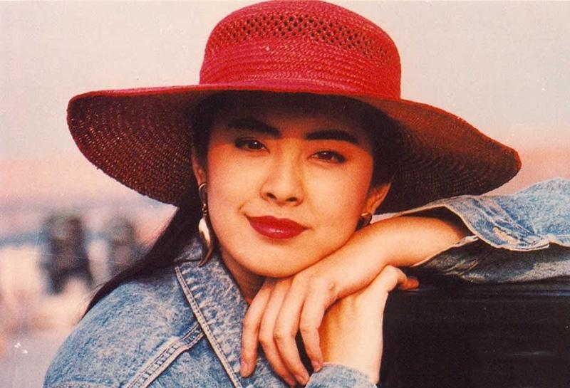 1990年王祖賢故宮拍廣告照片曝光圖片