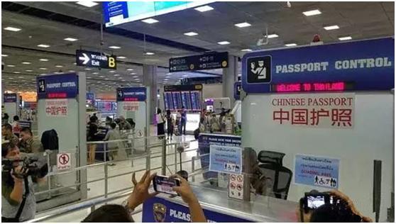 为挽回损失的60万中国游客,泰国机场开启VIP通道恭候中国游客