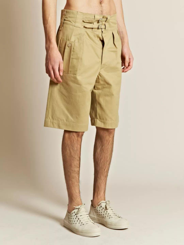 夏天穿啥短裤?你爷爷的这条就挺好!