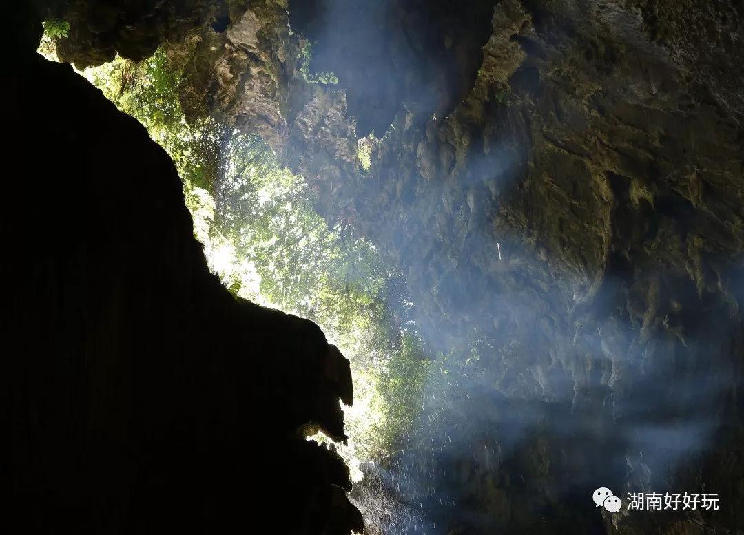 九座岩洞手绘图片