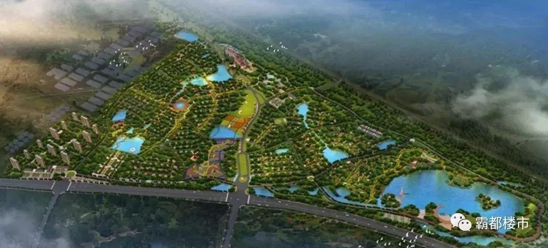 金寨县城新区规划图