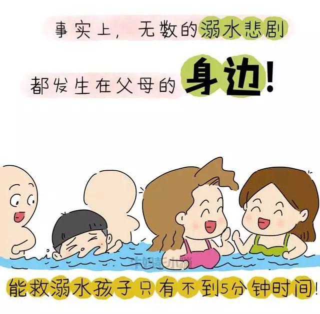 40张图告诉你什么是溺水,如何判断、预防溺水