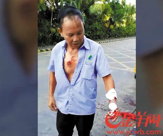 藏獒咬人视频_东莞一大型犬咬伤5人 被民警开枪击毙
