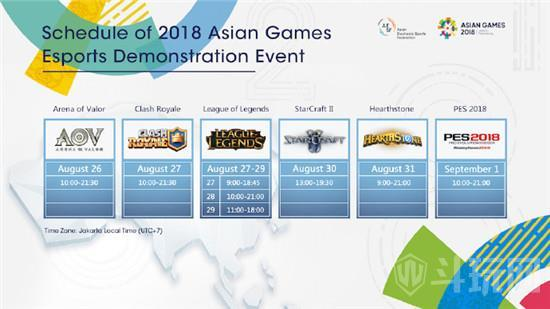 2018lol亚运会比赛赛程安排一览 LOL亚运会比赛时间直播观看地址
