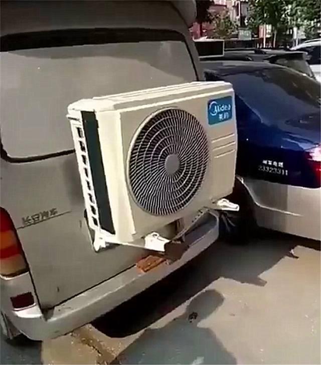 5万辆长安之星面包车现在在大街上,后面直接装空调!网友:牛逼