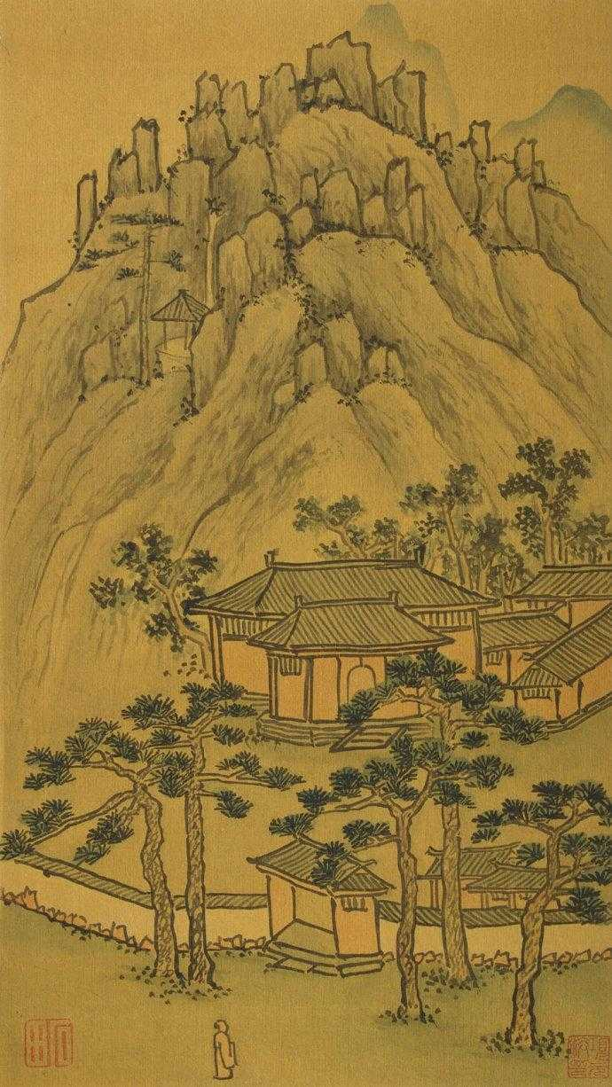 福寿田园              明代沈周画作选 - yyg1958 - 福寿田园 中国田黄石博物馆