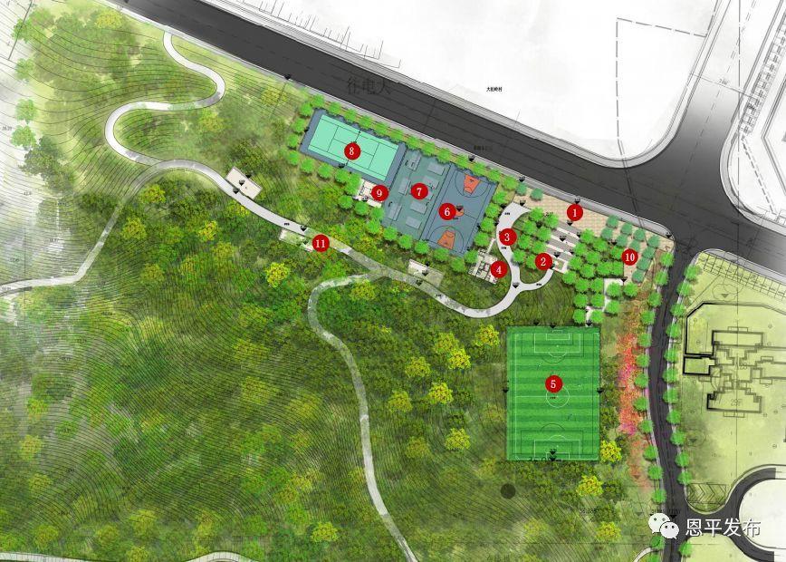 恩平未来城区规划图