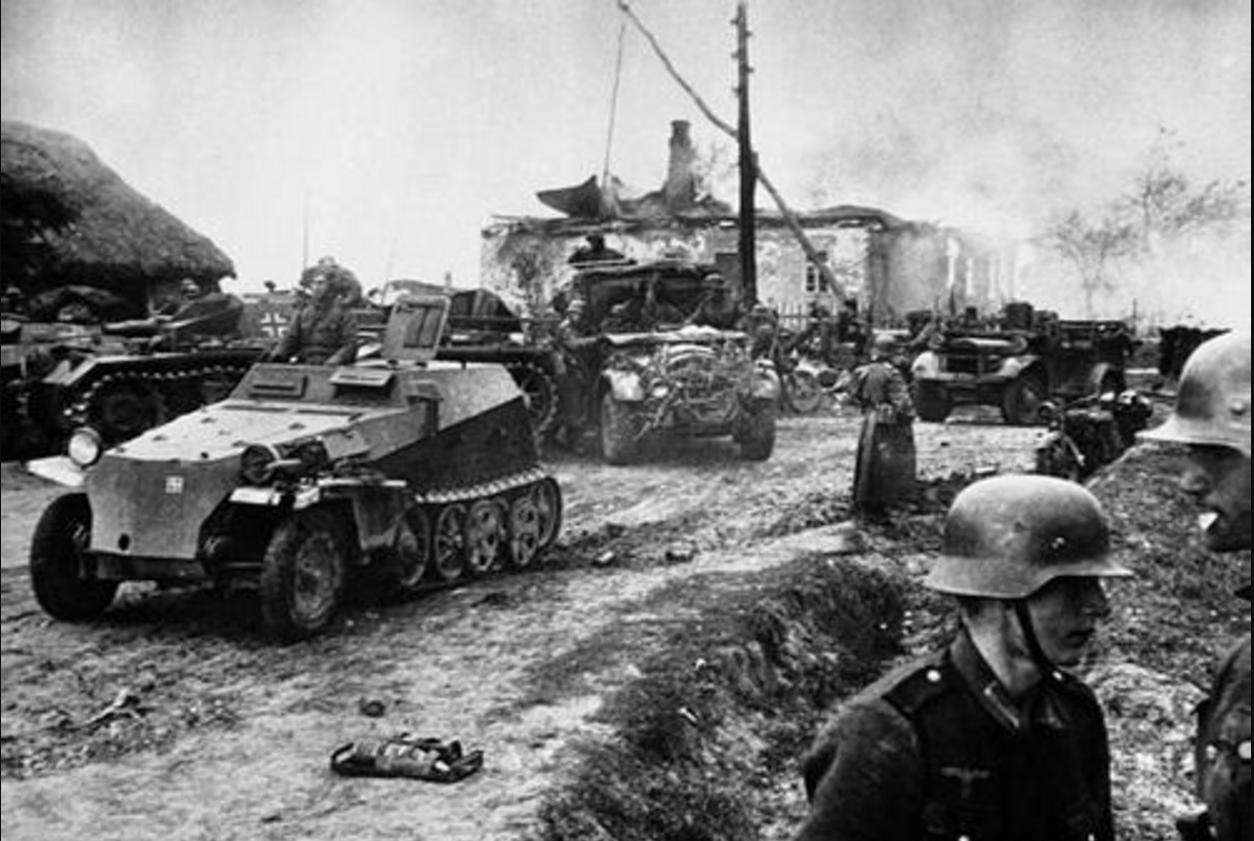 二战时,德国闪击苏联的真相,一名德军士兵的家书给出了答案图片