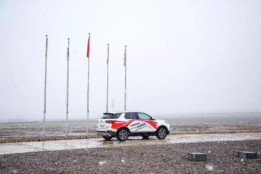 中国品牌智能化最高水平,长安自动驾驶带你穿越可可西里