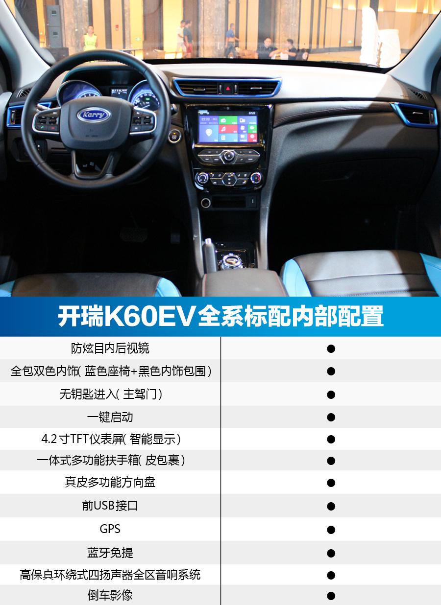 纯电动家用大7座SUV见过吗?开瑞K60EV购车推荐_北京pk10