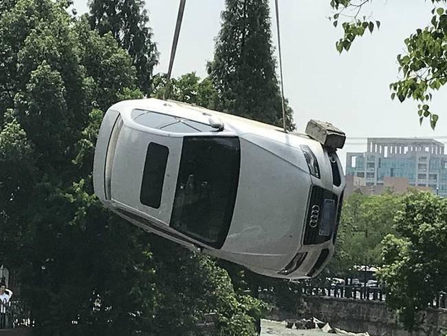 杭州西溪河堤塌方 :难道又是豆腐渣?