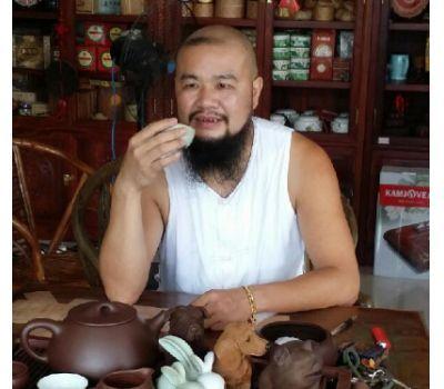 大胡子画家徐坤连的精美山水画,意境清新韵味盎然