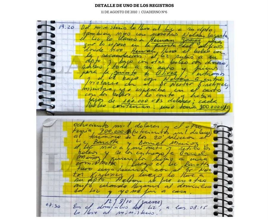 """10年""""卧底式""""记录行贿细节,高官司机秘密笔记本牵出政府惊天贪腐"""