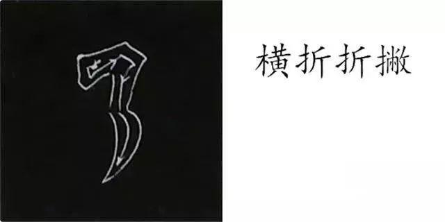 书法微课堂 柳公权楷书基本笔画写法,图解 下