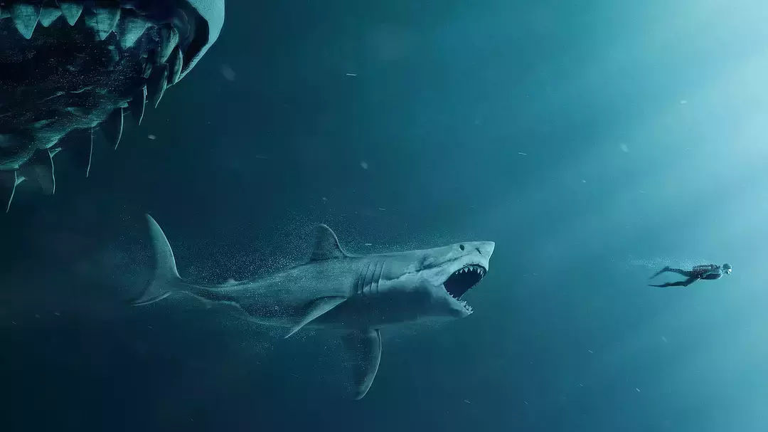 《巨齿鲨》为中美合拍片挽尊!杰森斯坦森搭档李冰冰带来激爽灾难片图片