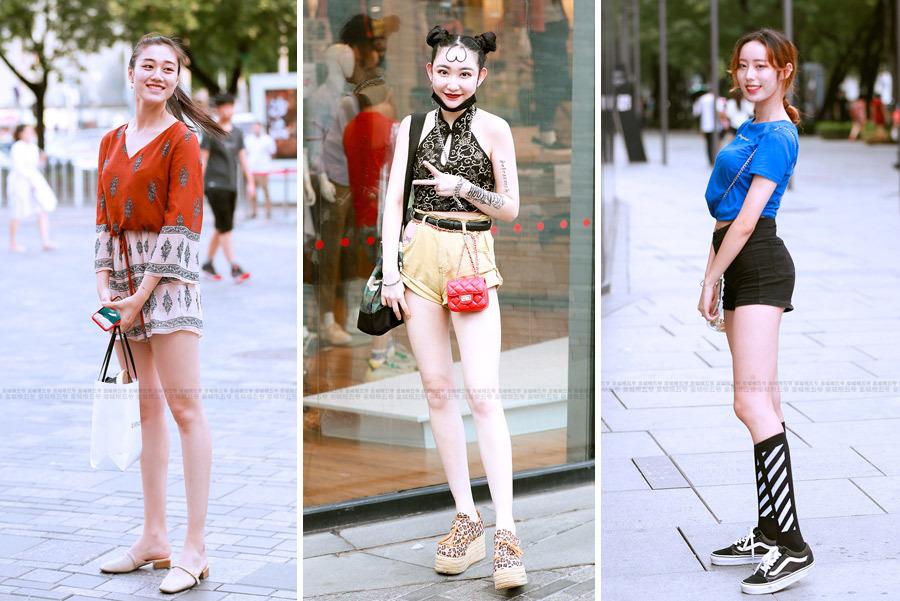 街拍:会穿衣打扮的女孩子,走到哪里都会吸引人们的目光