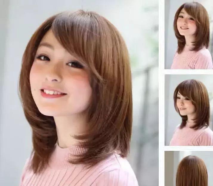 碎发内卷短发 垂顺的发型烫出简单的内卷层次感,显现出梨花头的特色.图片