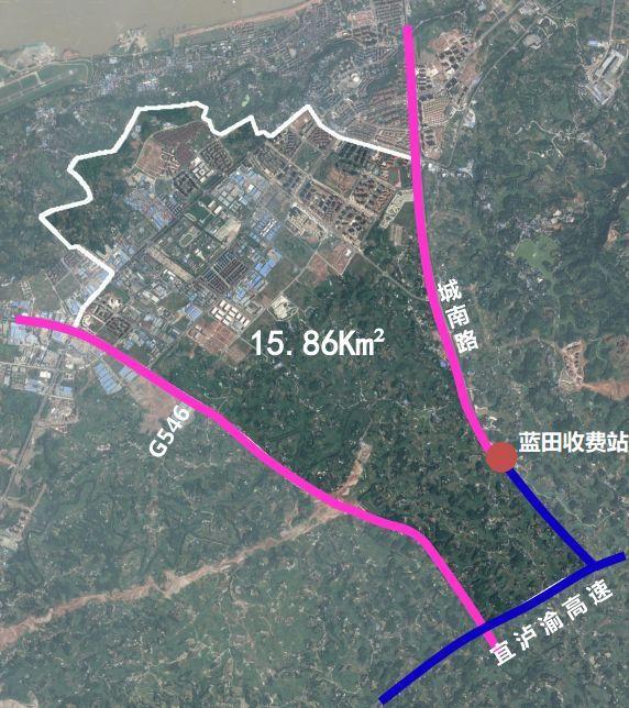 泸州城南片区规划来了 现代生态新城,27处学校用地
