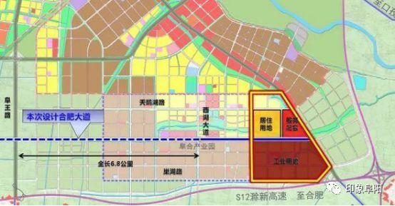 阜阳阜裕大桥规划图