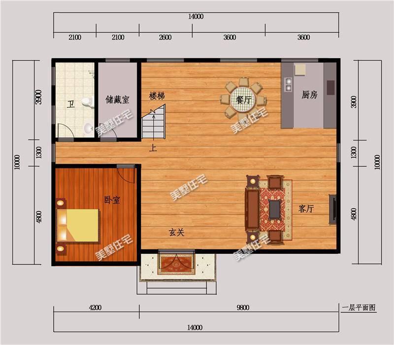 原标题:农村自建2层现代风别墅,四室三厅,外观靓,布局好! 现在我们的生活越来越好了,国民的收人也越来越高,以前出外打工的年轻人们在外面打拼了多年,现在都在想回到自己的家乡建一栋属于自己的房子。想要一个完美的家,肯定是有一个舒适的环境,面积不能太小,120平上的房子好布局,今天这一款二层别墅,占地面积140平方米,看看你心动了没? 效果图: