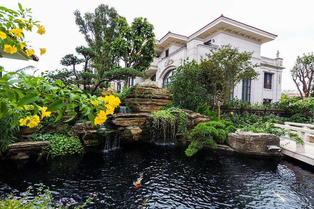 庭院鱼池设计,小空间,大创意