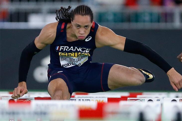 欧锦赛110米栏名将失手 法黑马以0.002秒演绝杀