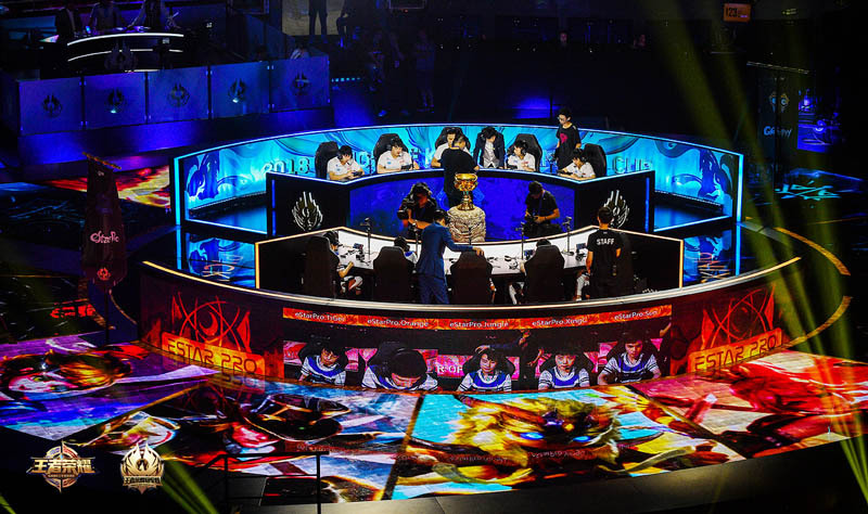 2018王者荣耀冠军杯国际总决赛[视频] QGhappy夺冠