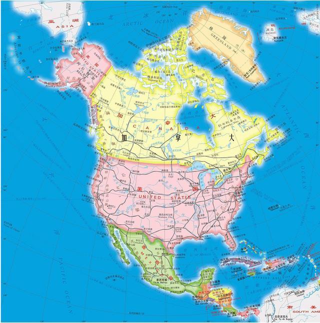 """北美""""枫叶之国""""加拿大,世界上海岸线最长的国家,国境线不设防"""