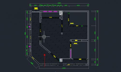 cad家装吧�9l.�k_cad怎么绘制地面铺设图纸(详细图解)