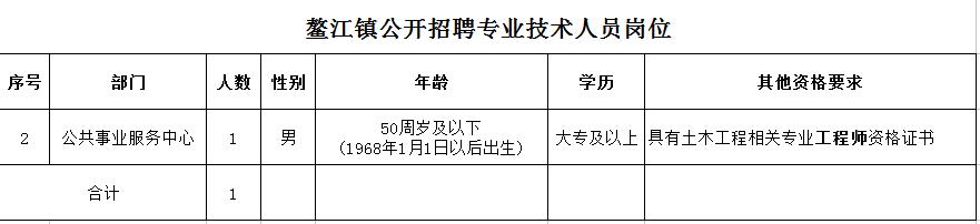 鳌江镇人民政府招人了!年薪10万,有五险一金!