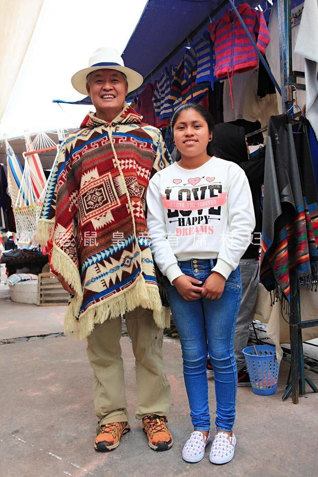 逛南美最大手工艺品市场,遇漂亮女警察,中国音乐征服了印第安人