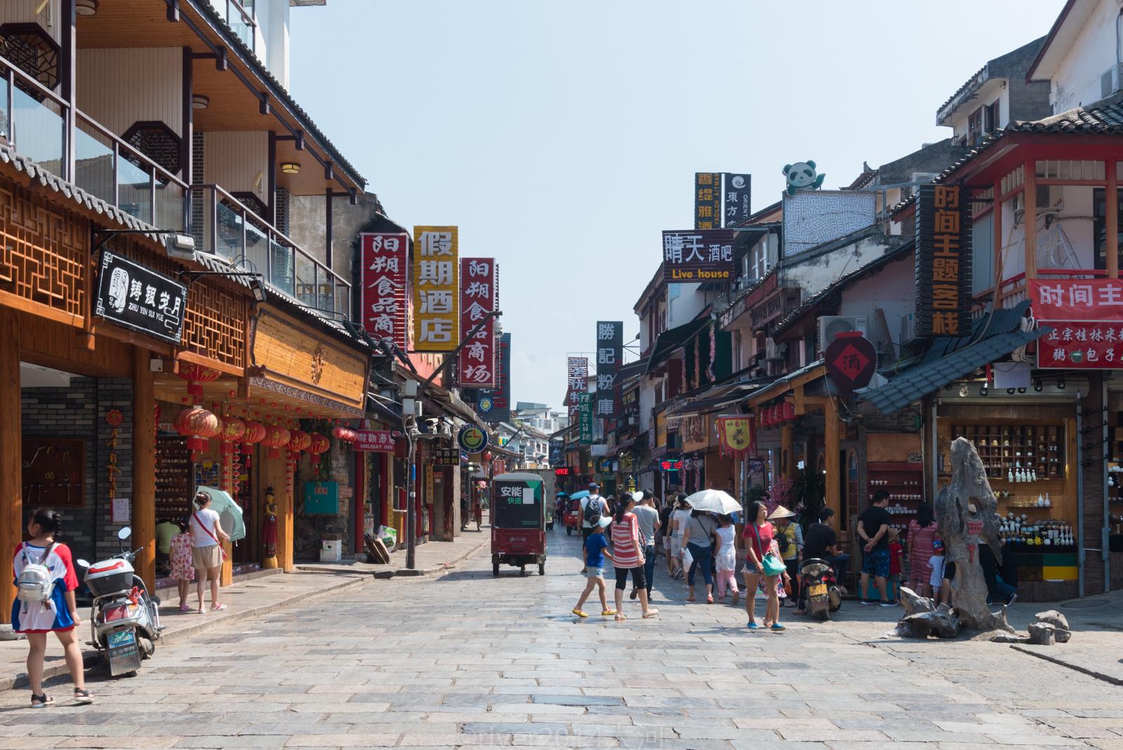 阳朔这条古街已有1400多年,每年有10多万老外慕名而来