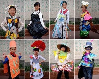 时尚 正文  各种创意衣服手工制作,是幼儿园必不可少的手工教程之一