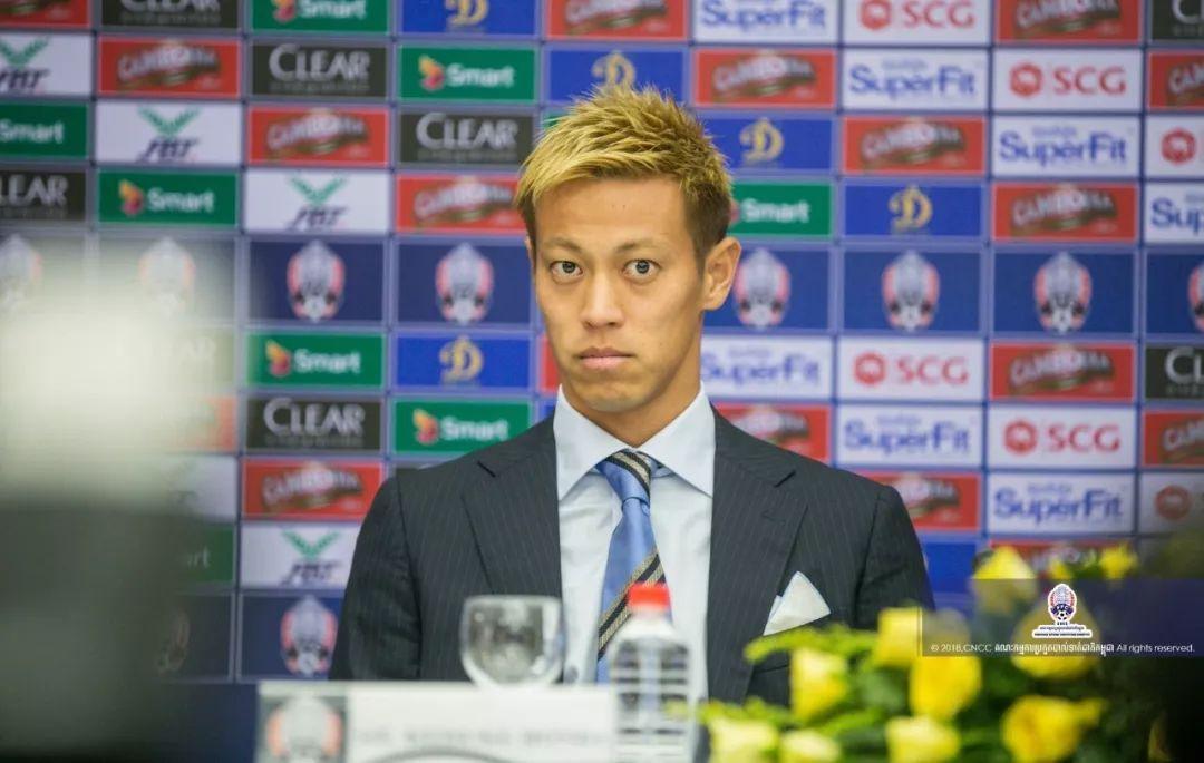漫画一样的人生!本田圭佑突然宣布出任柬埔寨