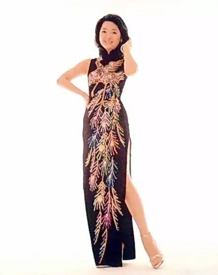 邓丽君 旗袍