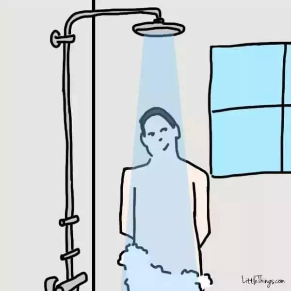 从洗澡方式看出一个人的性格