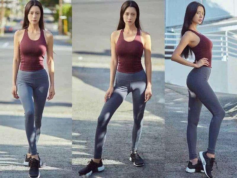 打底裤确实比牛仔裤好,不仅穿着舒服,而且还不会凸显倒三角区