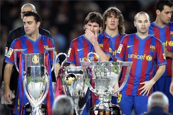 梅西33冠创纪录,年度91球历史第一,6冠王前无古人