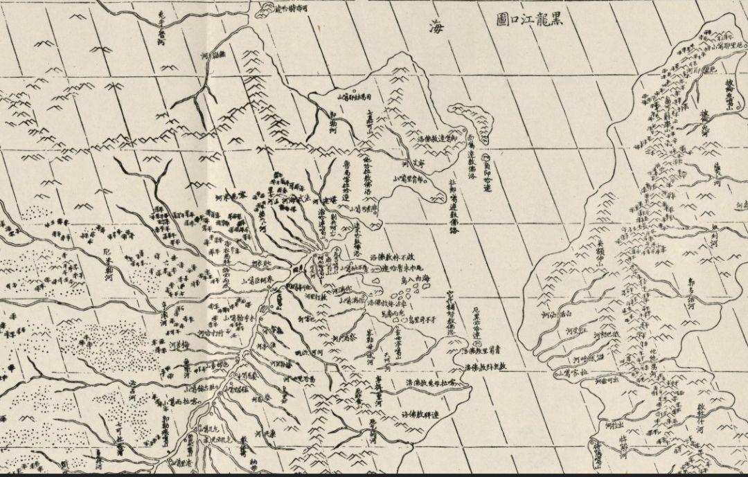 清朝时期黑龙江有多少人口_清朝黑龙江地图