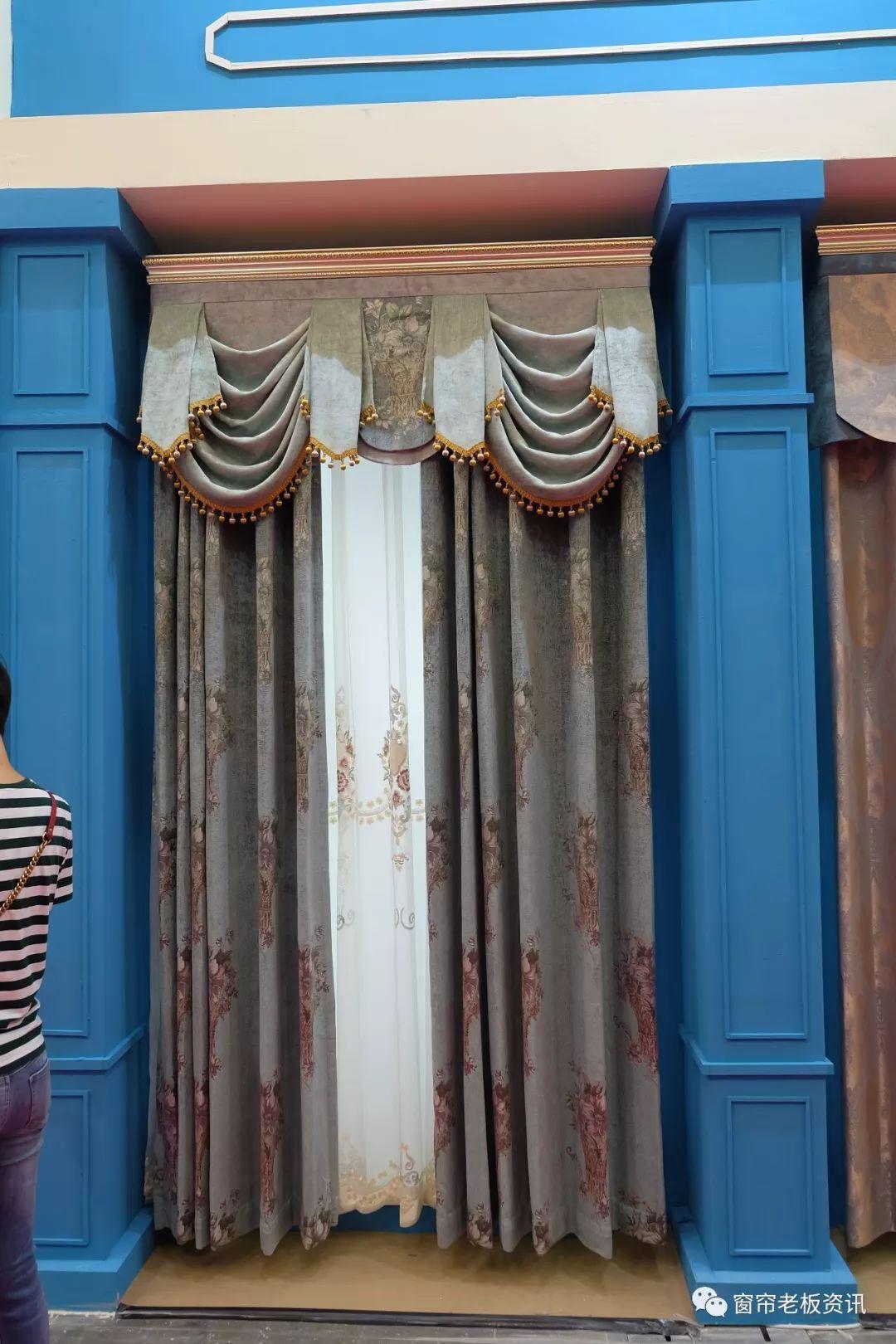 展会追踪 除了拼接窗帘,这5类窗帘必须借鉴下,尤其最后一种