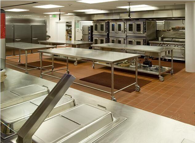 贯穿整个酒店厨房的几个设计要素