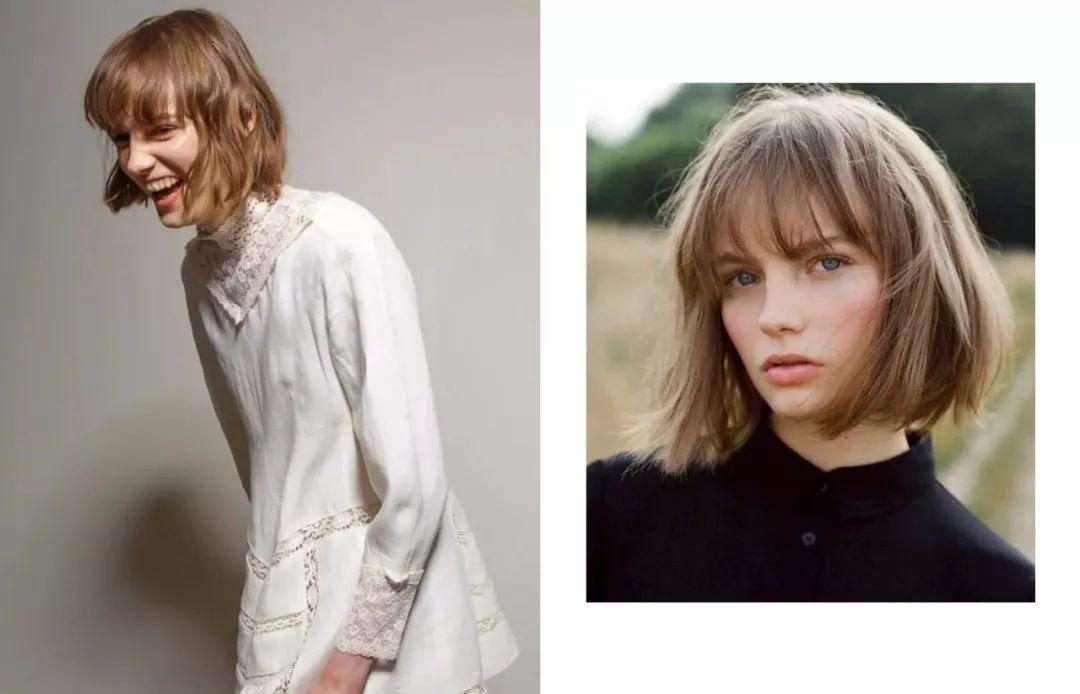 时尚 正文  沈月那标志性的bob短发,清纯活泼,也让她成为流星花园女主图片