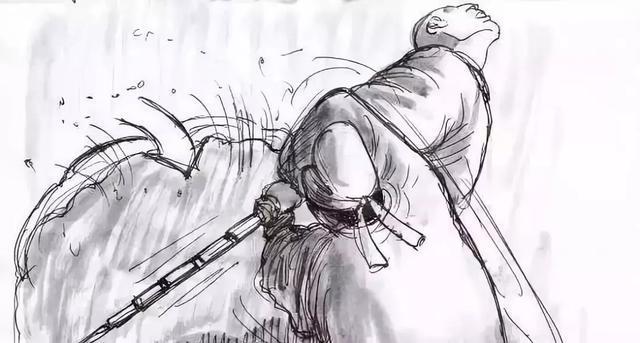 《狄仁杰系列》电影分镜漫画手稿及美国电影专业详解!