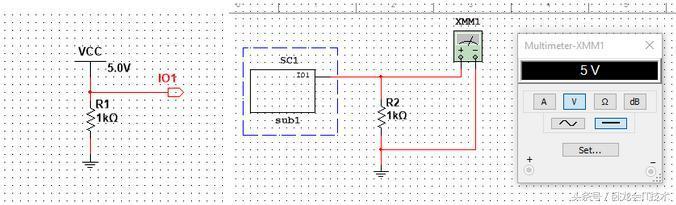 multisim10.0_multisim有模块化设计的三种方式,能大大简化原理图!