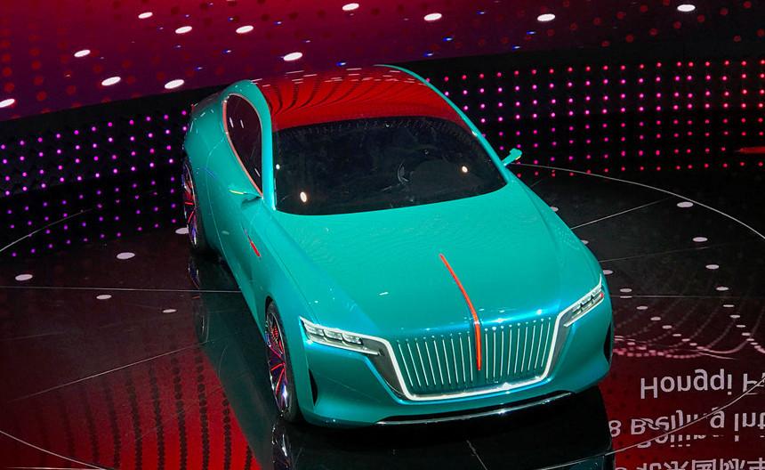 红旗能否崛起就看它了美过奔驰S级售价80万或许销量能翻身