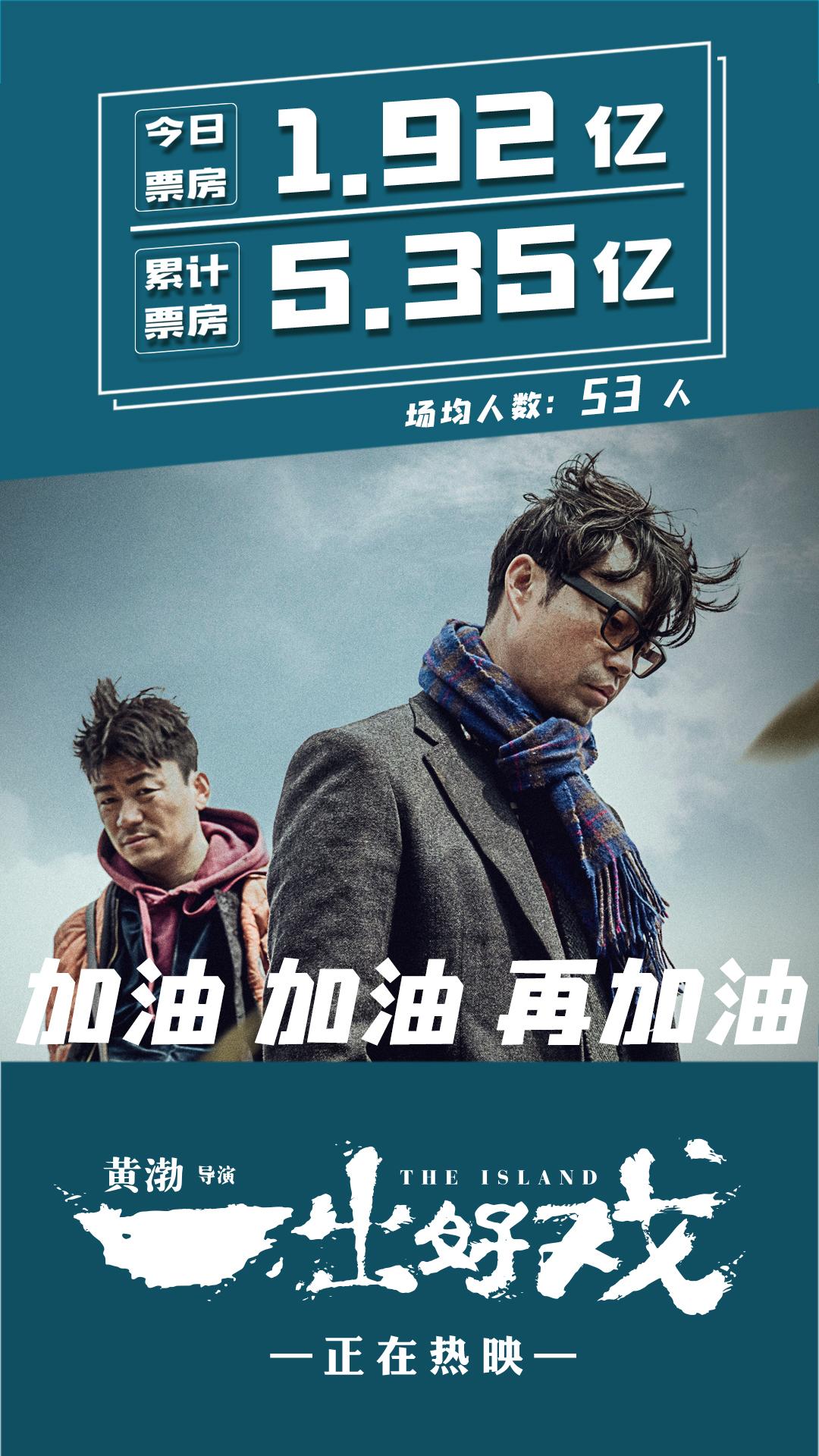 《一出好戏》三天五亿成同档期票房冠军 导演黄渤与杭州观众分享电影创作理念