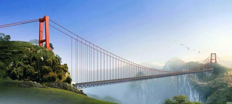 云中漫步,辉煌中国,创四项世界第一矮寨大桥!穿越古今